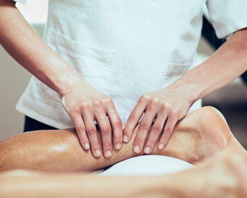 first sports massage